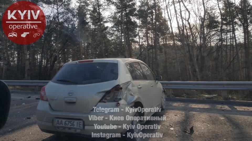 Под Киевом произошло тройное ДТП (ФОТО) , фото-3
