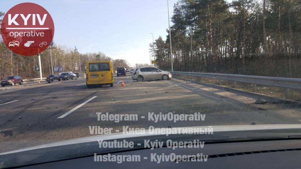 Под Киевом произошло тройное ДТП (ФОТО) , фото-4