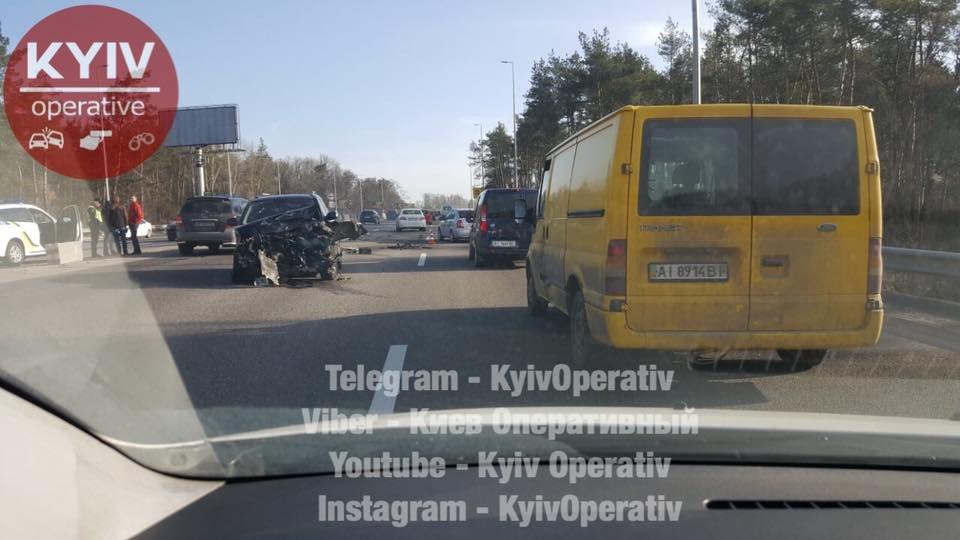 Под Киевом произошло тройное ДТП (ФОТО) , фото-5
