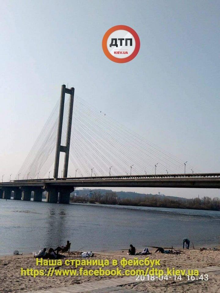 В Киеве двое руферов забрались на Южный мост (ФОТОФАКТ), фото-2
