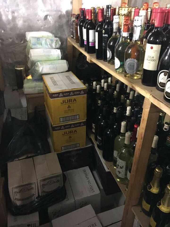 В Киеве изъяли около 2 тыс. бутылок безакцизного Jack Daniels и Martini (ФОТО), фото-2