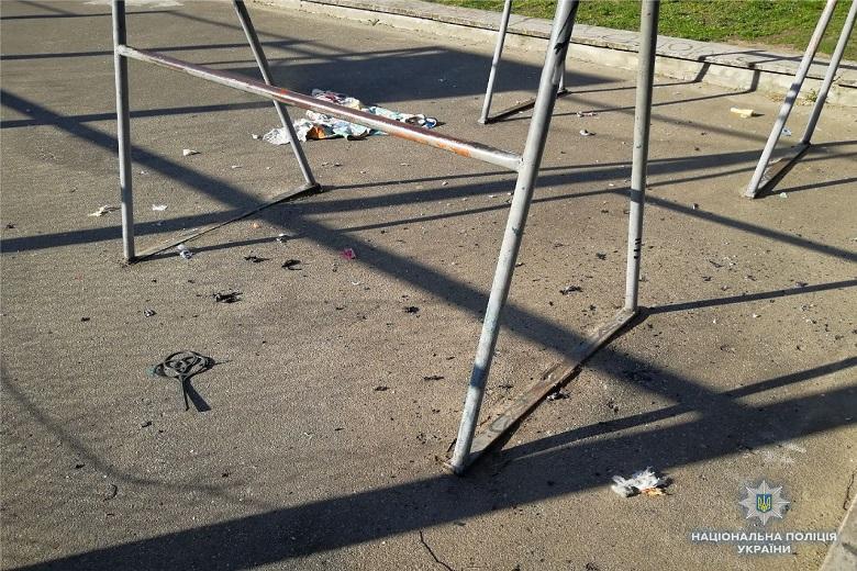 В Киеве на спортплощадке произошел взрыв (ФОТО), фото-2