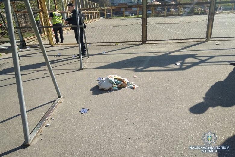 В Киеве на спортплощадке произошел взрыв (ФОТО), фото-1