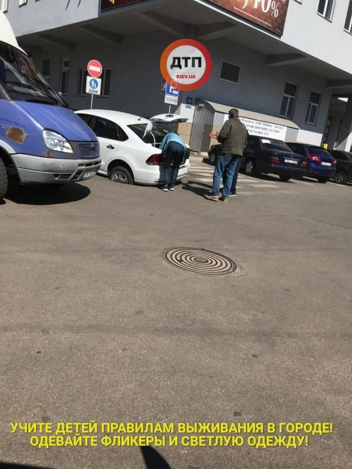 В Киеве автомобиль провалился под асфальт (ФОТО), фото-3