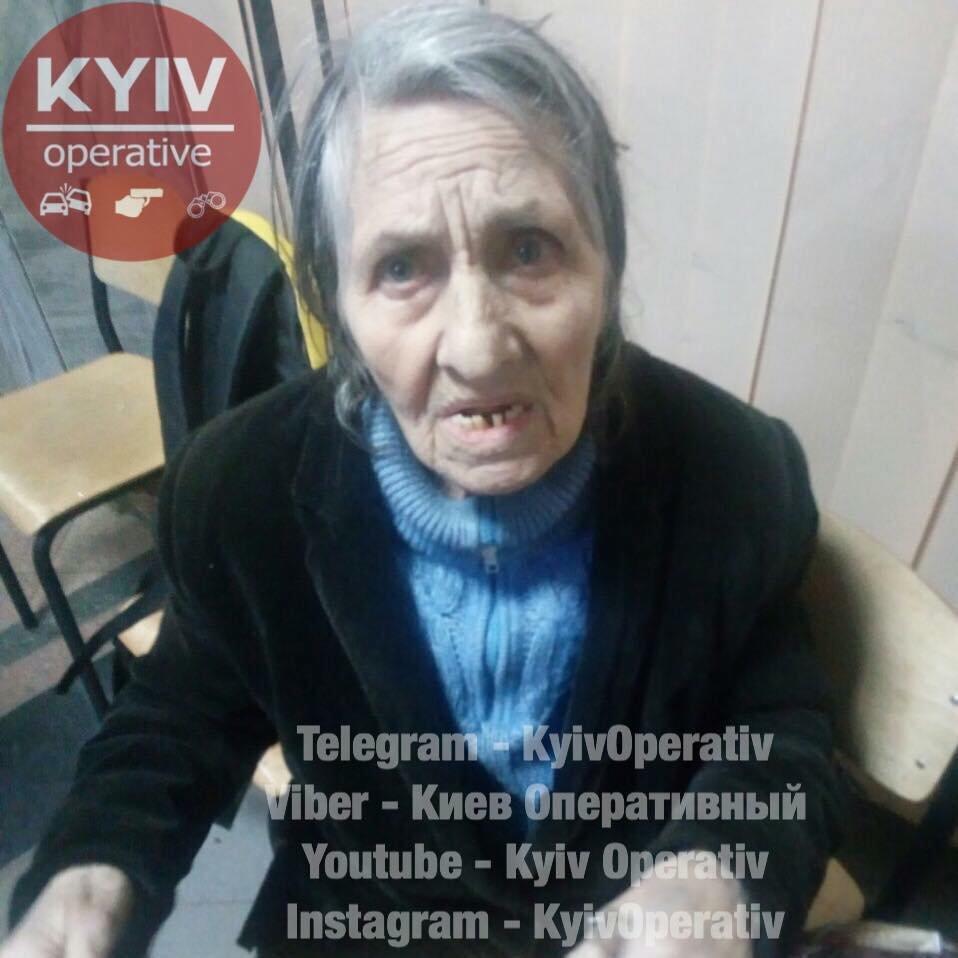 Ничего не помнит: в Киеве ищут родственников потерявшейся бабушки, фото-1
