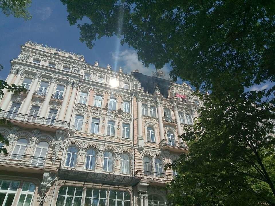 В доме Гинзбурга произошел пожар (ФОТО), фото-2