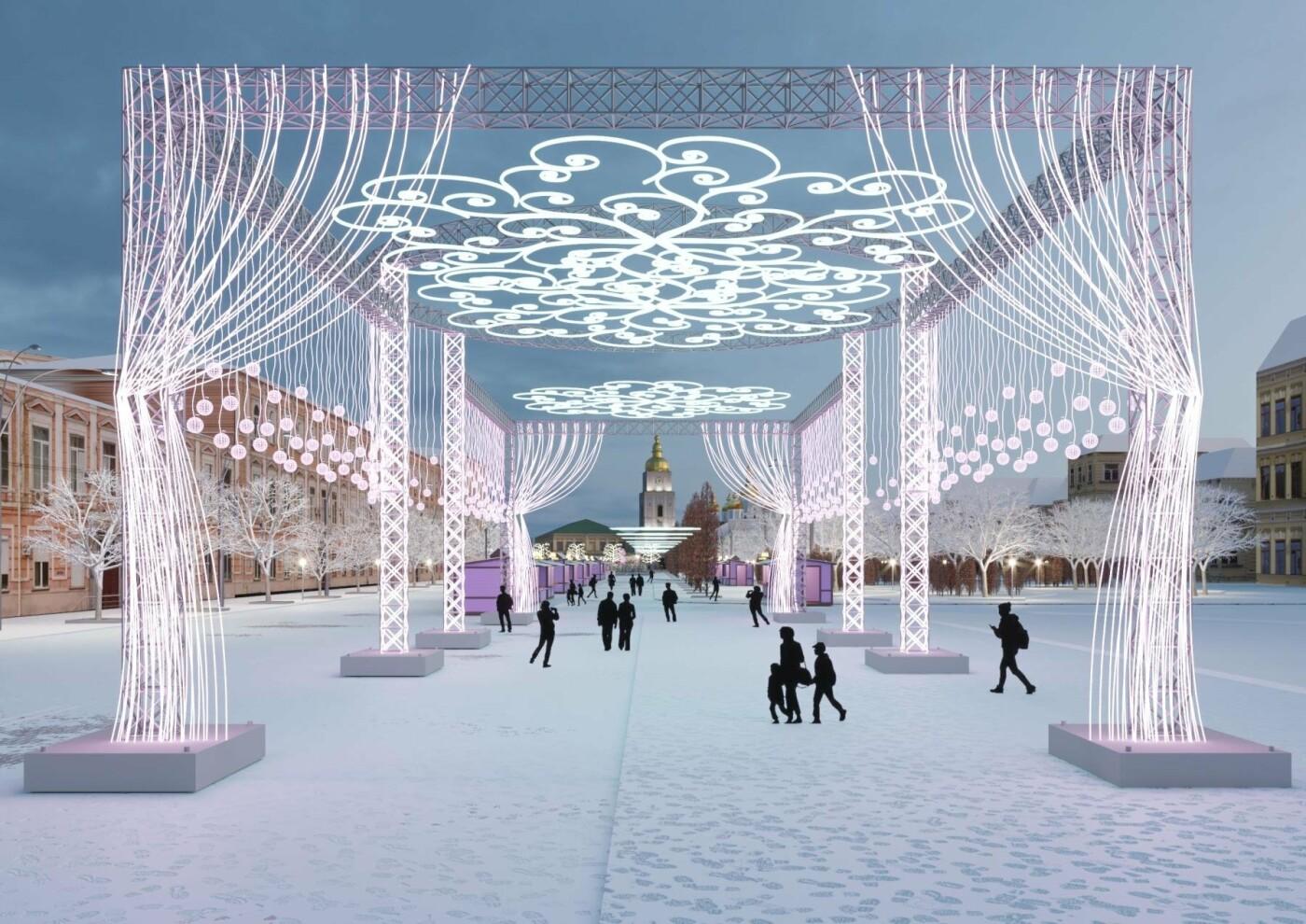 Как будет выглядеть главный новогодний городок Киева: появились первые фото, фото-1