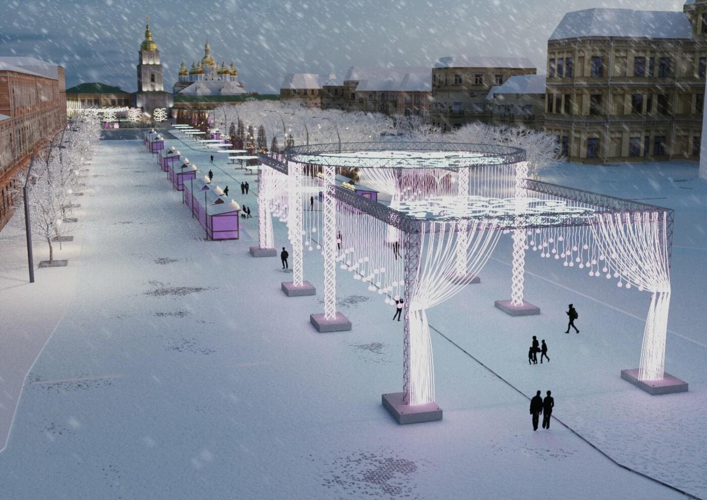 Как будет выглядеть главный новогодний городок Киева: появились первые фото, фото-4