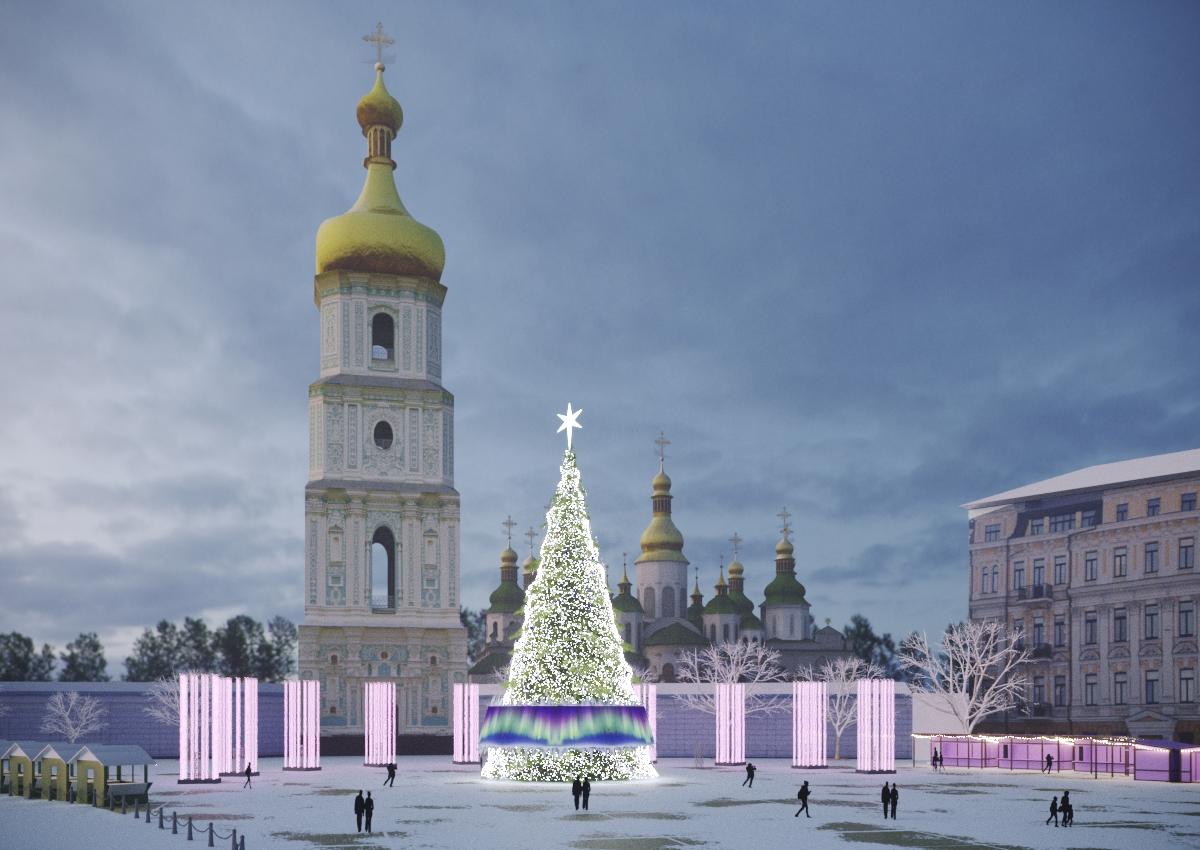 Как будет выглядеть главный новогодний городок Киева: появились первые фото, фото-2