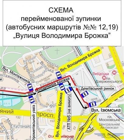 Фото: остановки Киева (Киевпастранс)
