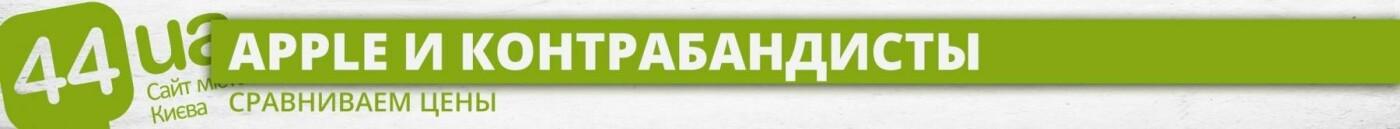 Серое яблоко: какие новинки Apple контрабандисты предлагают киевлянам, - ИНФОГРАФИКА, фото-8