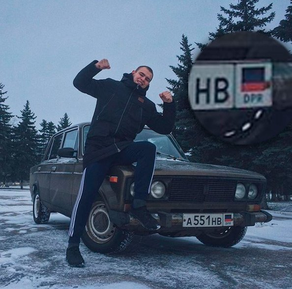 Бой за Экопарк Осокорки: среди титушек замечен сепаратист, - ФОТОФАКТ, фото-2