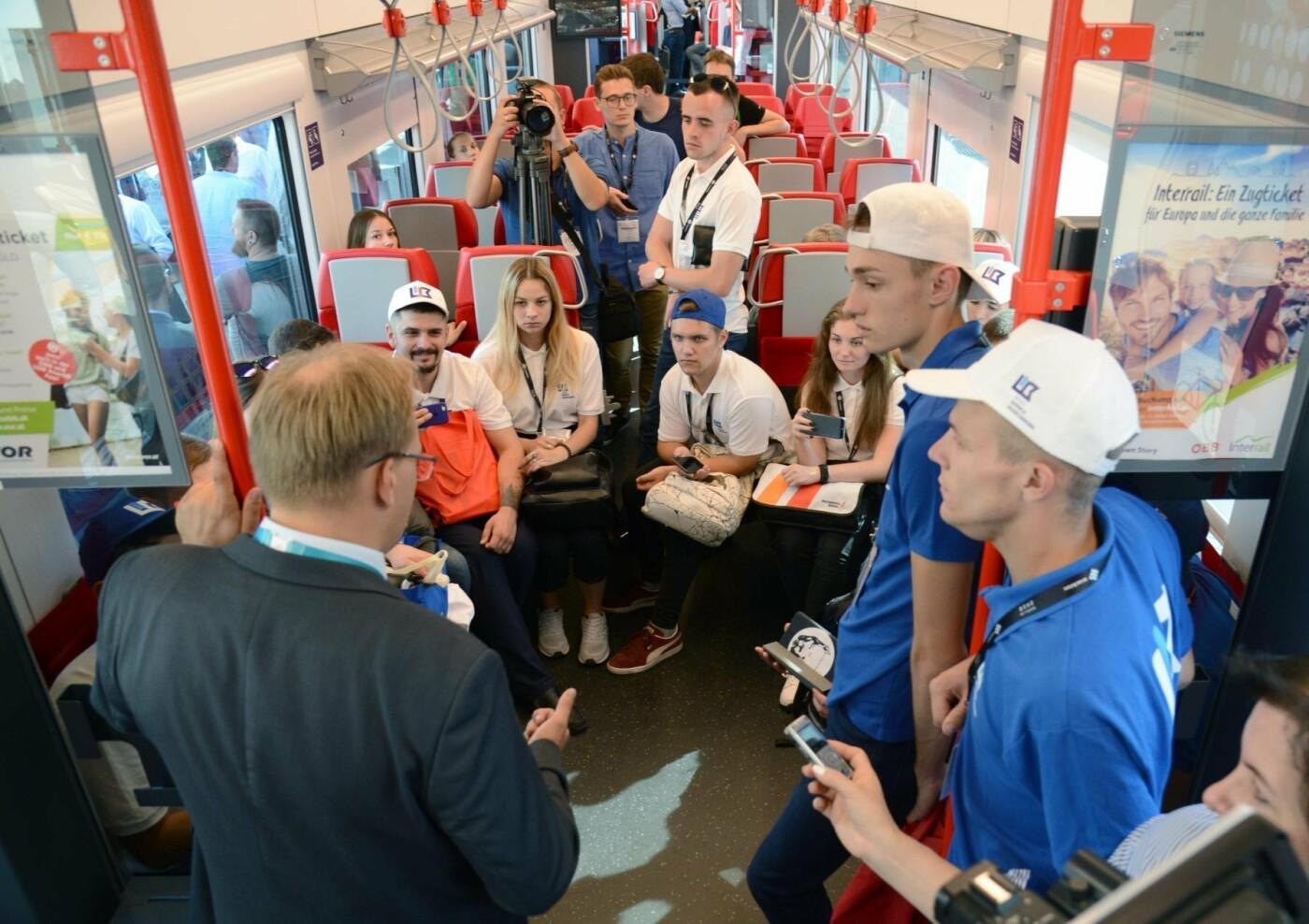 Борис Колесников вместе с лучшими студентами Украины посетил транспортную выставку в Германии, фото-4
