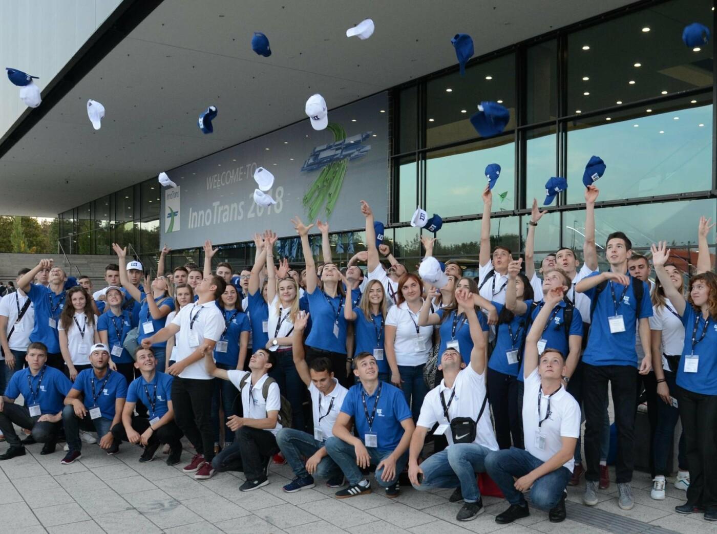 Борис Колесников вместе с лучшими студентами Украины посетил транспортную выставку в Германии, фото-3