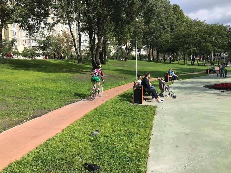 «Спасибо, что не построили ТРЦ»: на Троещине облагородили часть парка, - ФОТО, фото-2