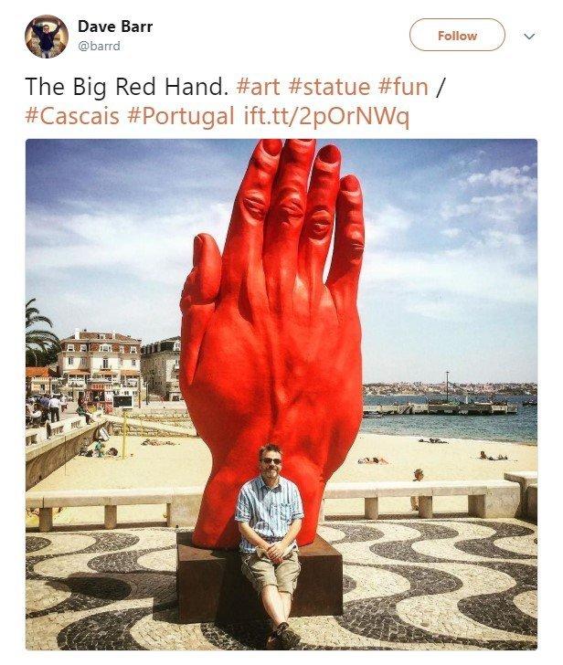 Смотри, синяя рука на Бессарабке: 5 фактов о новом монументе, фото-4