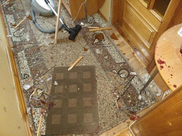 Под Киевом в квартиру координатора С14 бросили взрывчатку, пострадал человек, - ФОТО, фото-5