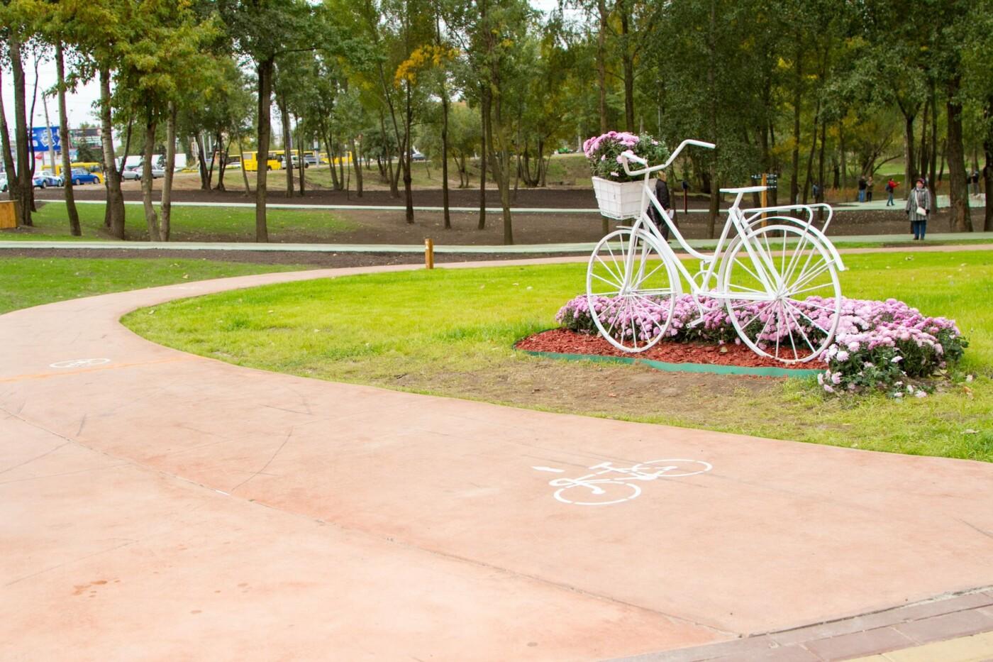 На Троещине открыли первую очередь нового парка: как он выглядит, фото-6