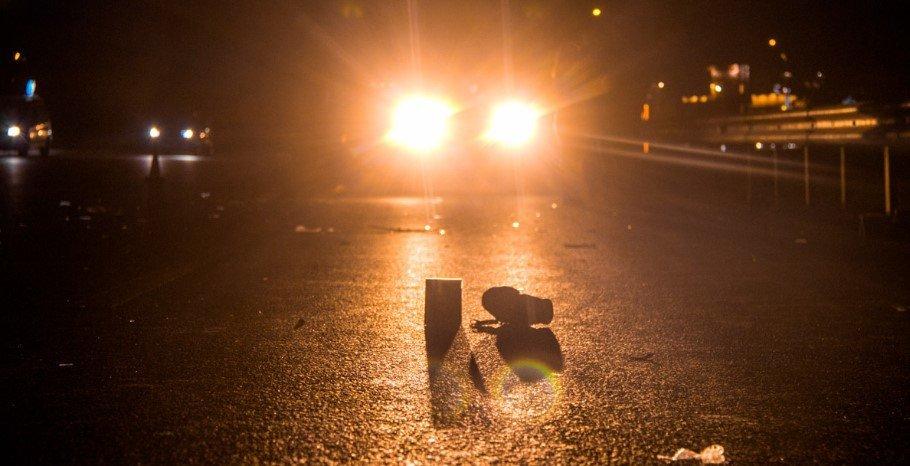 В Киеве иномарка насмерть сбила пешеходов-нарушителей, - ФОТО, фото-1
