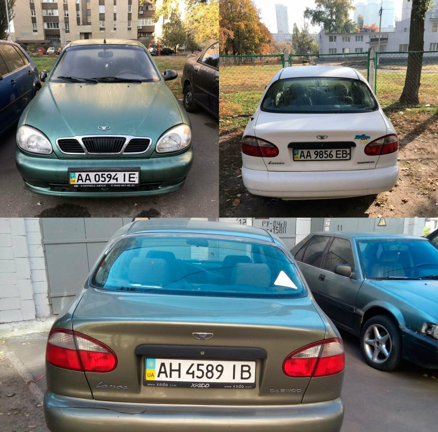 На Березняках грабители оставили 3 автомобиля без аккумуляторов, - ФОТО, фото-1