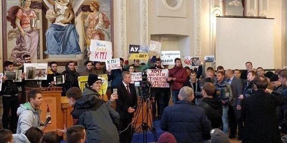 «КПИ – не бизнес»: студенты «Политеха» взбунтовались против проректора , фото-1