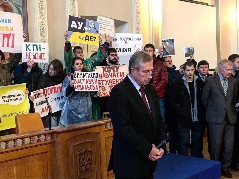 «КПИ – не бизнес»: студенты «Политеха» взбунтовались против проректора , фото-4