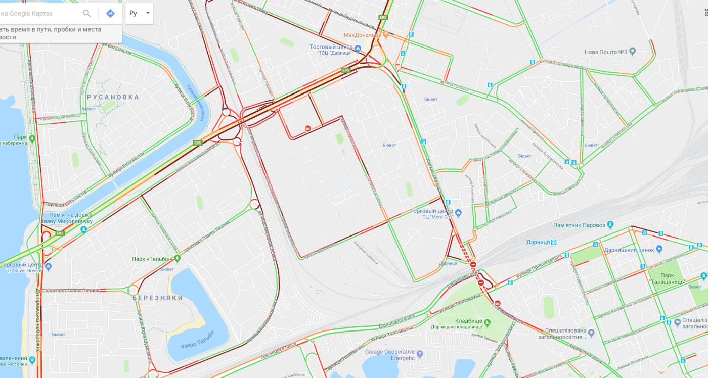 Перекрыто Харьковское шоссе: протестуют жители, которым отключили электричество. Левый берег парализован, фото-3