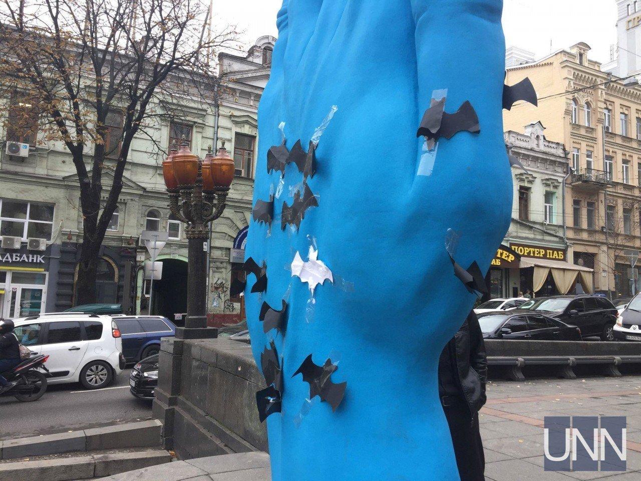 "На ""Синюю руку"" к Хэллоуину прилетели летучие мыши, - ФОТО, фото-3"