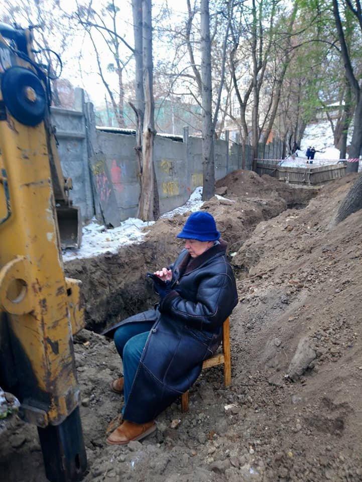 На Печерске в результате застройки может разрушиться дом художницы, - ФОТО, фото-1