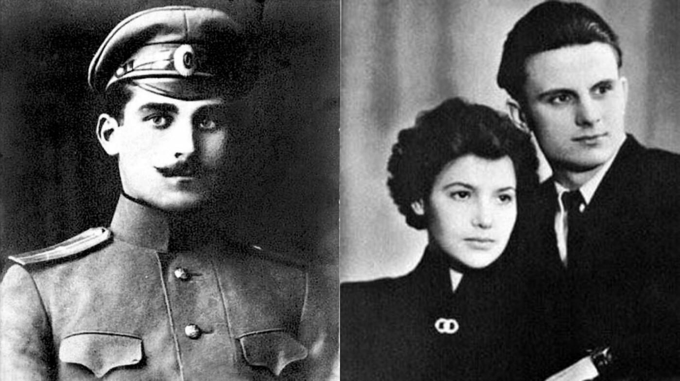 Николай Щорс и Леонид Кравчук с женой