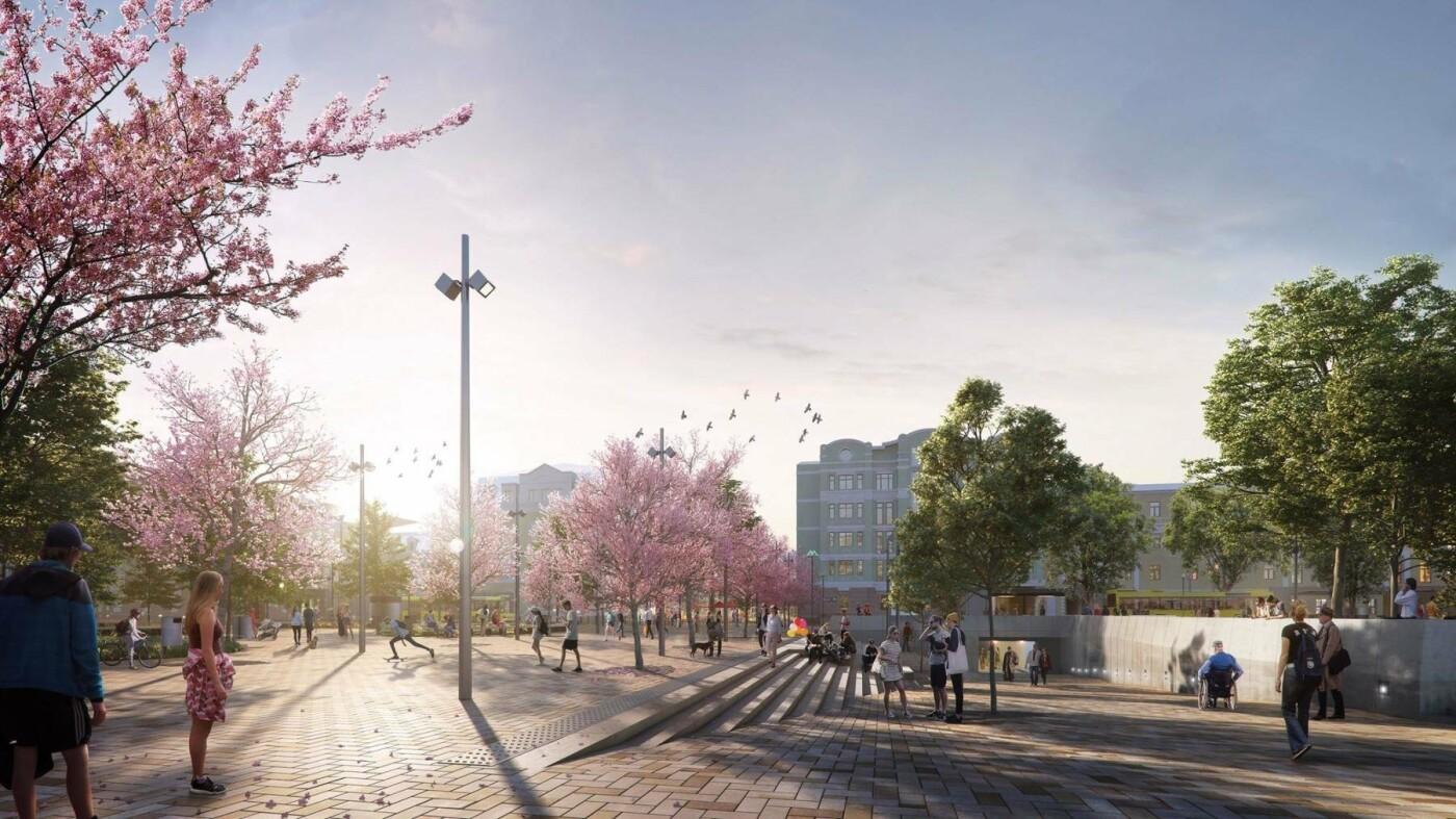 На Подоле реконструируют знаменитую улицу Сагайдачного, фото-1