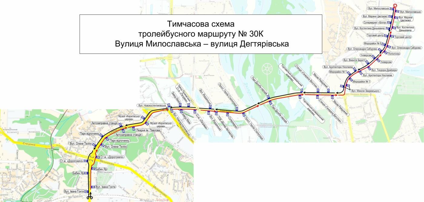Перекрытие Шулявского моста: как изменятся маршруты общественного транспорта, фото-5