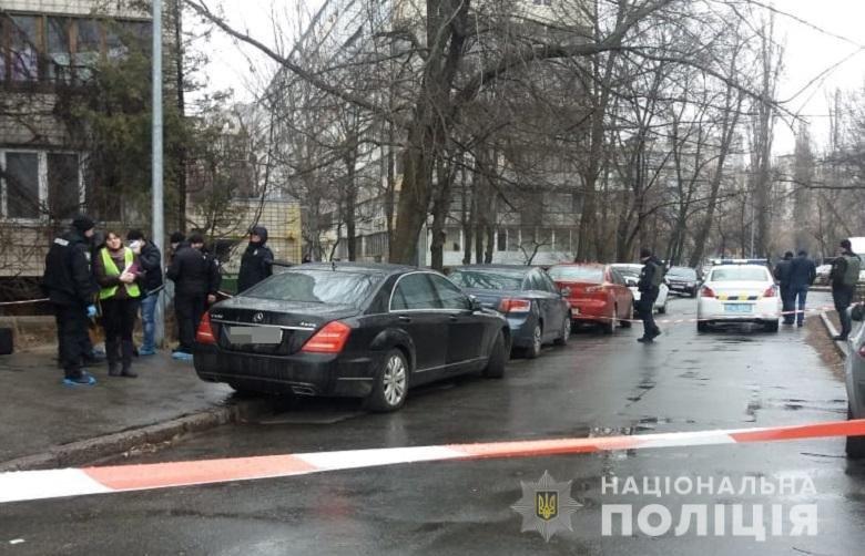 Во дворе дома в Днепровском районе застрелили мужчину, - ФОТО, фото-1