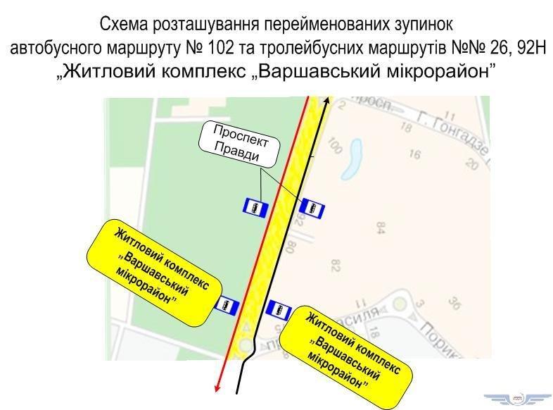 В Подольском районе Киева переименовали остановку, фото-1