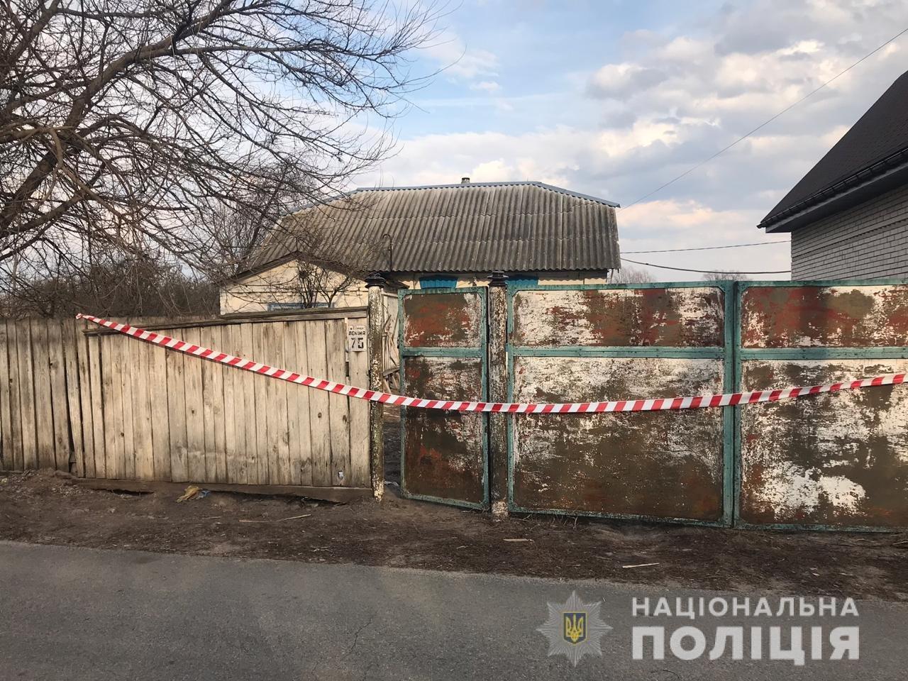 Под Киевом приезжий пробил мужчине голову топором, - ФОТО, ВИДЕО, фото-1