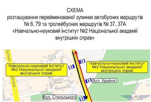 В Киеве изменили название еще одной остановки, фото-1