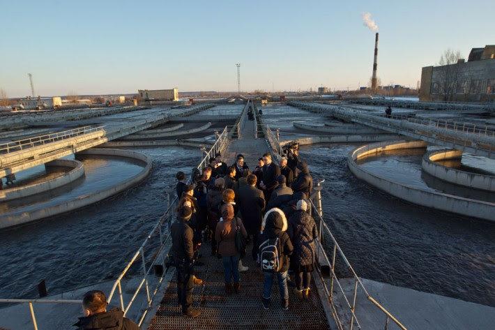 В Киеве реконструируют очистную станцию Бортничи, фото-1