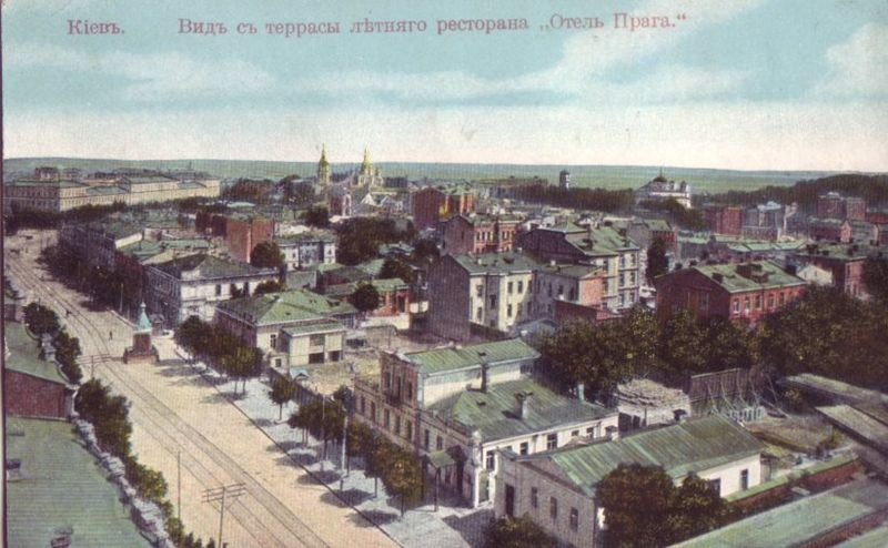 Вид на Ирининский столб, начало XX века, Фото: uk.wikipedia.org