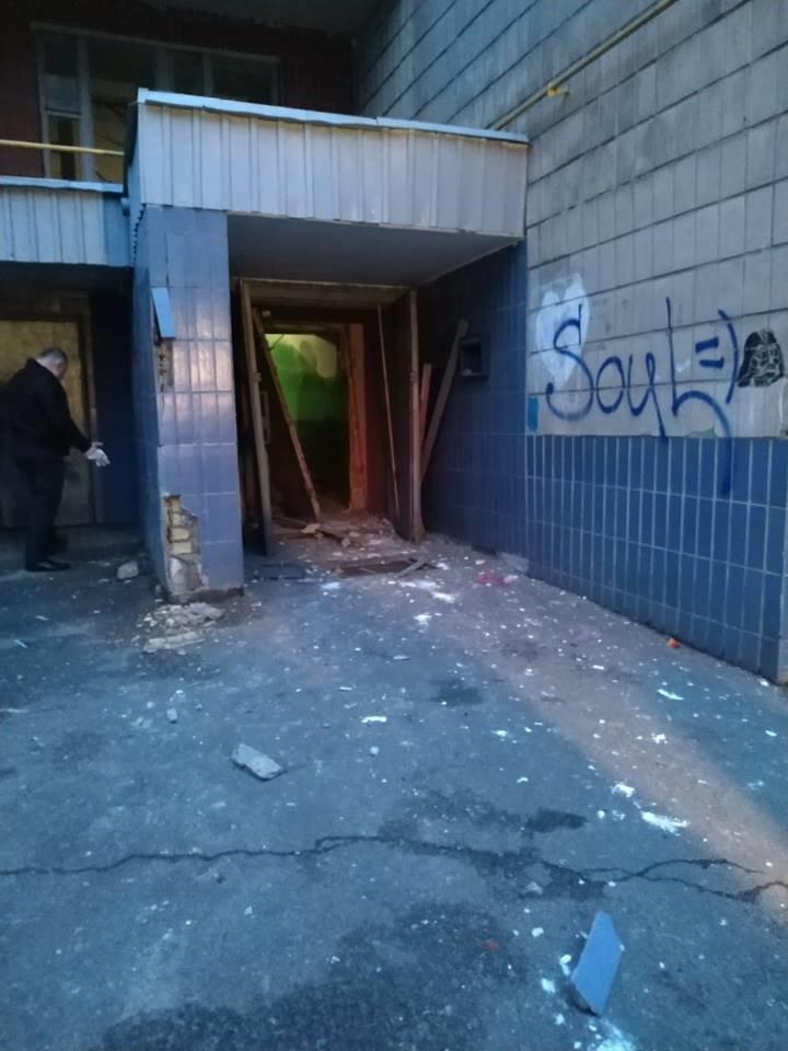 В подъезде многоэтажки в Киеве прогремел взрыв: есть пострадавший, - ФОТО, фото-2, Фото: Инфрматор