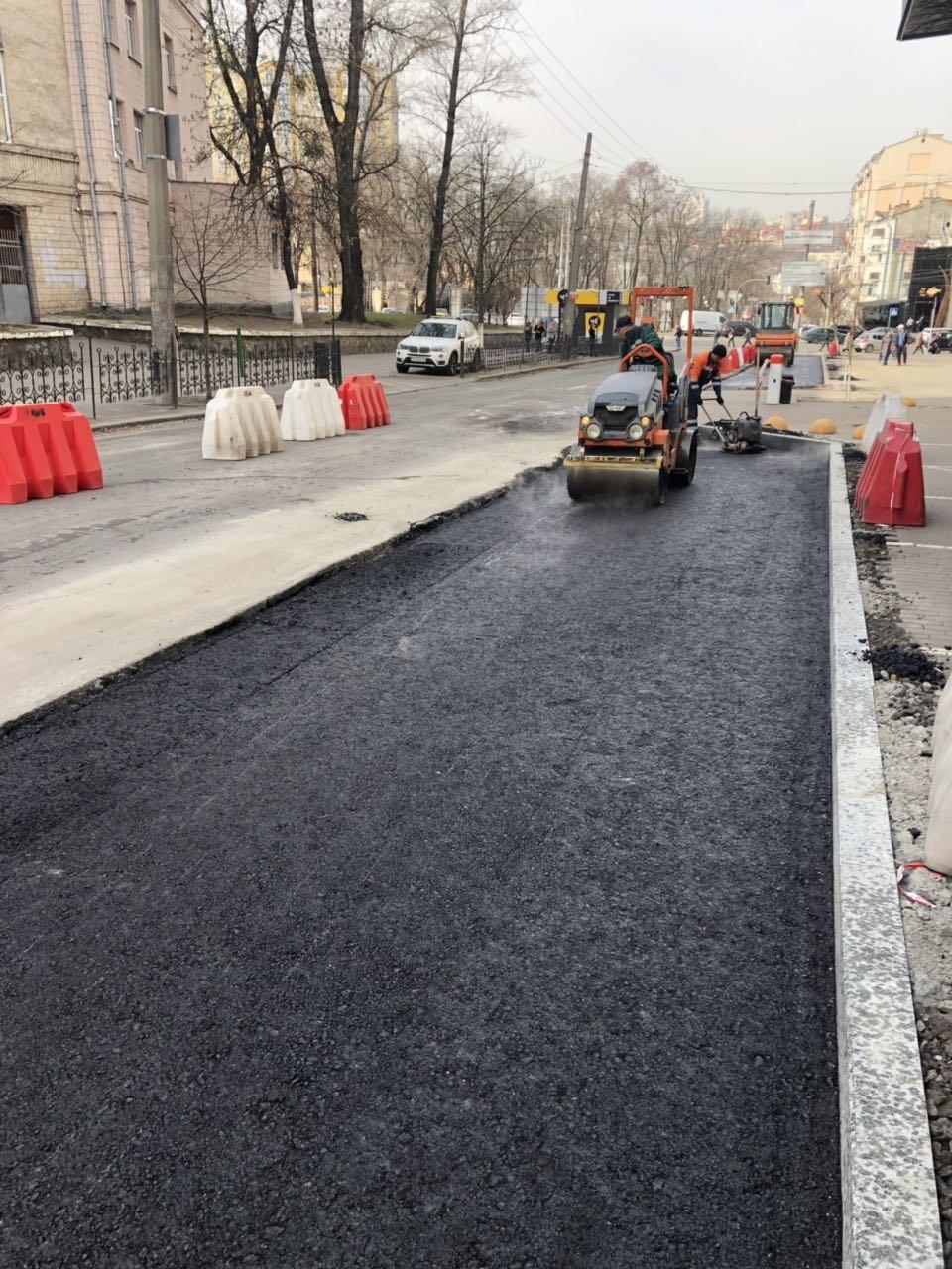 Как проходит реконструкция улицы Ивана Федорова в Киеве, - ФОТО, фото-1