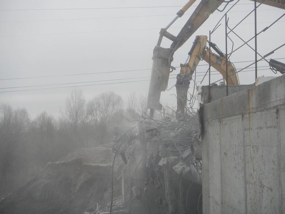 На Осокорках в Киеве сносят мост: в КГГА раскрыли детали, фото-4, Фото: facebook.com/olga.parzhitskaya