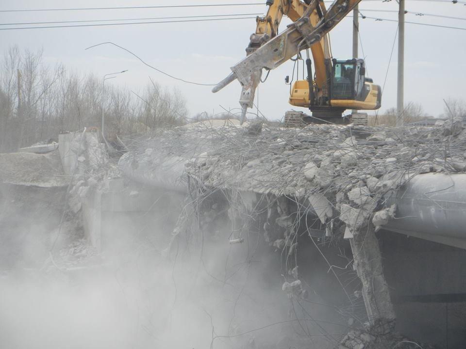 На Осокорках в Киеве сносят мост: в КГГА раскрыли детали, фото-3, Фото: facebook.com/olga.parzhitskaya