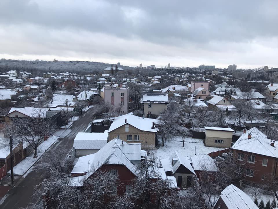 Суровая весна: самые яркие фото заснеженного Киева, фото-2, Фото: Facebook/Андрей Дубровский