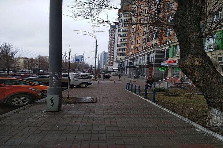 На бульваре Леси Украинки в Киеве просят обустроить парковку для людей с инвалидностью, фото-1