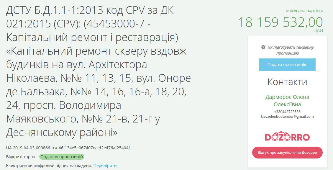 В Киеве хотят провести реконструкцию двух скверов за 21 млн, фото-2