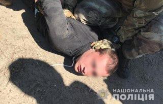 Убийство полицейского под Киевом: задержан подозреваемый, который нанес смертельный удар, фото-3
