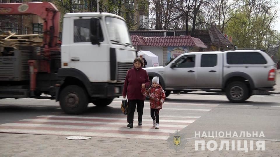 Под Киевом полиция ловила пешеходов-нарушителей, - ФОТО, ВИДЕО, фото-2
