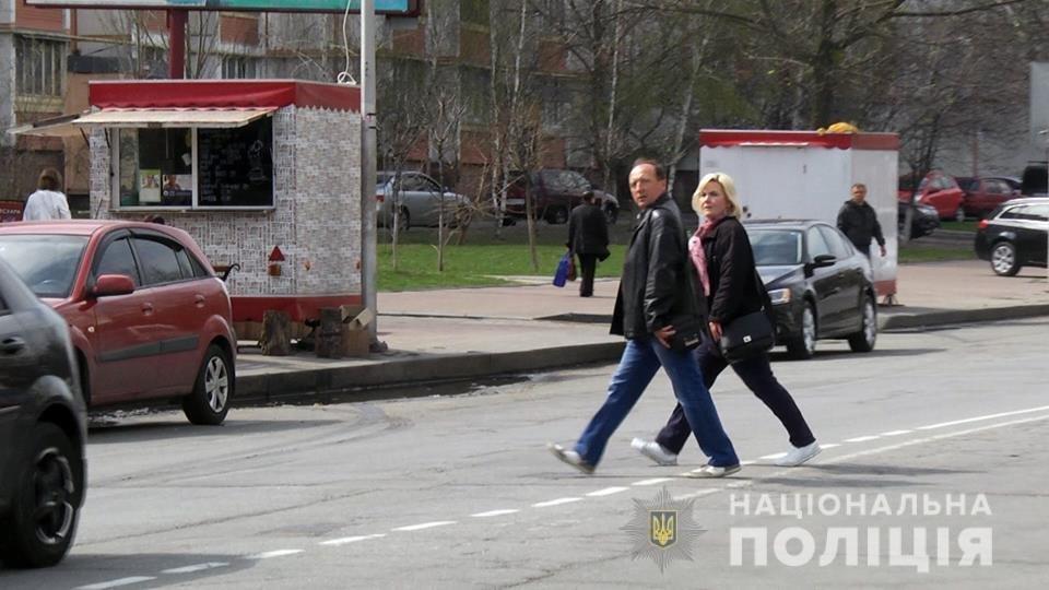 Под Киевом полиция ловила пешеходов-нарушителей, - ФОТО, ВИДЕО, фото-3
