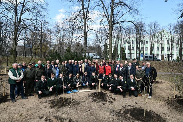 В Киеве обустроили самый большой сад магнолий, - ФОТО, фото-6