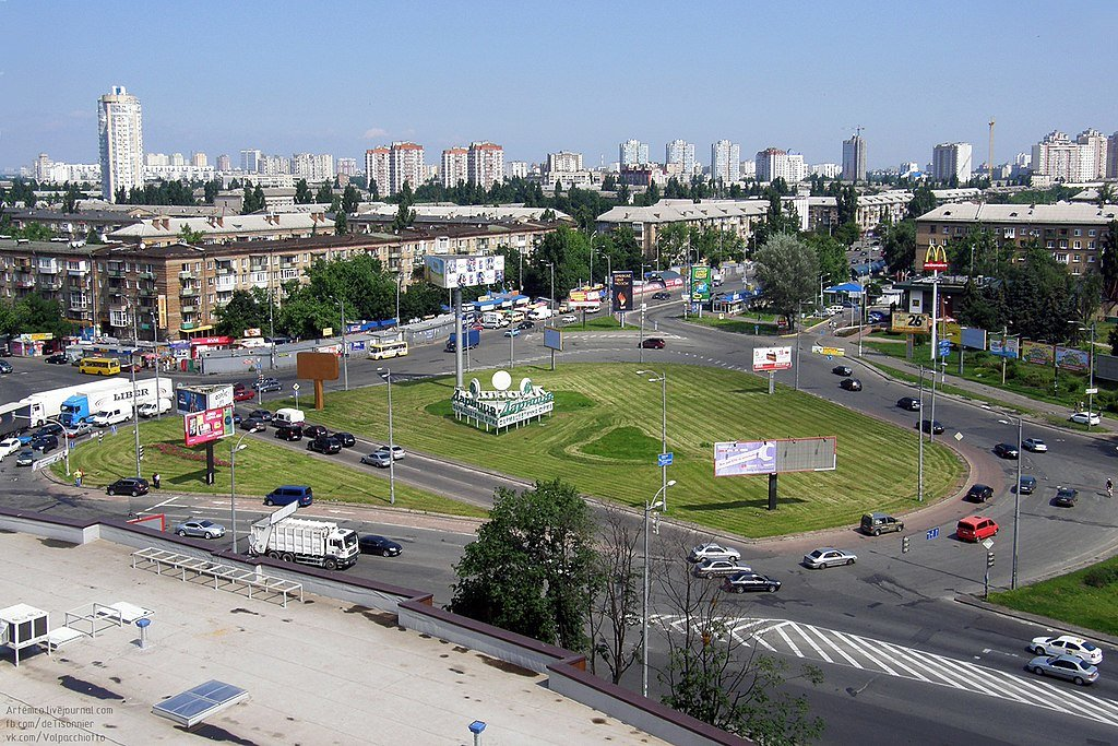 Дарницкая площадь - Фото: wikipedia.org